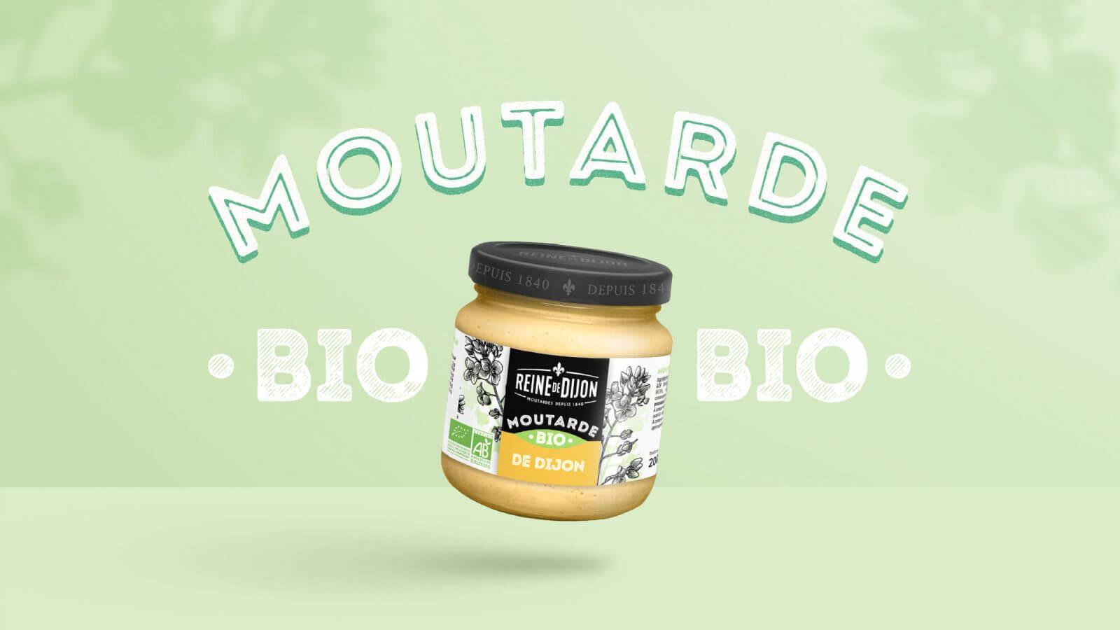 packaging identité bio moutarde