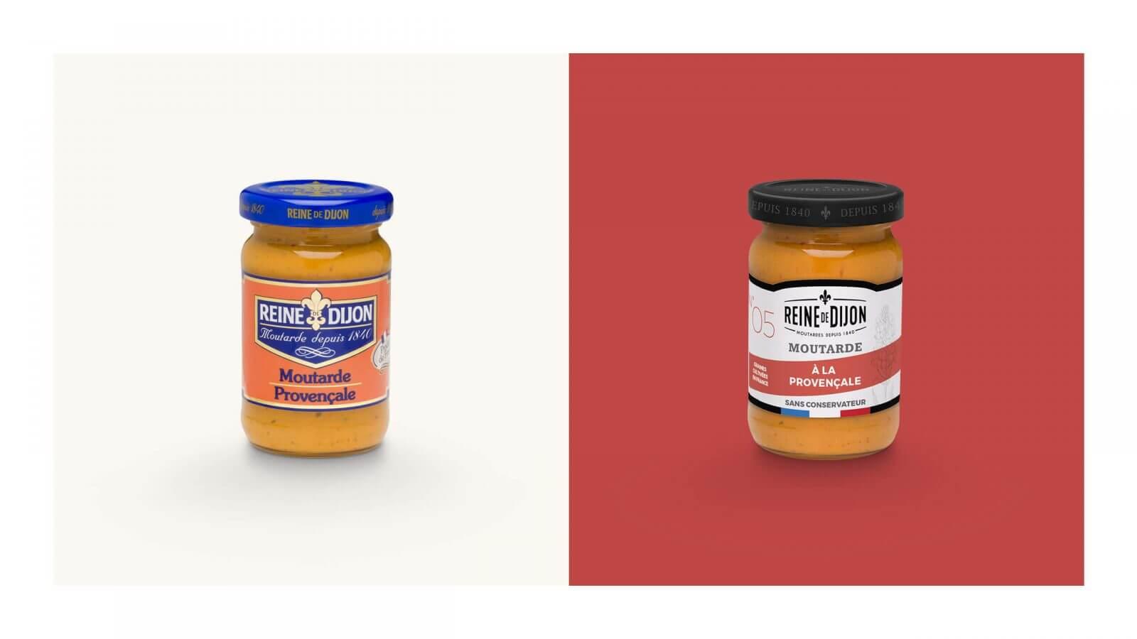 packaging pot moutarde dijon