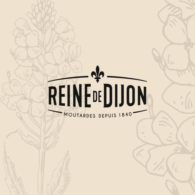 refonte identité packaging Reine de Dijon