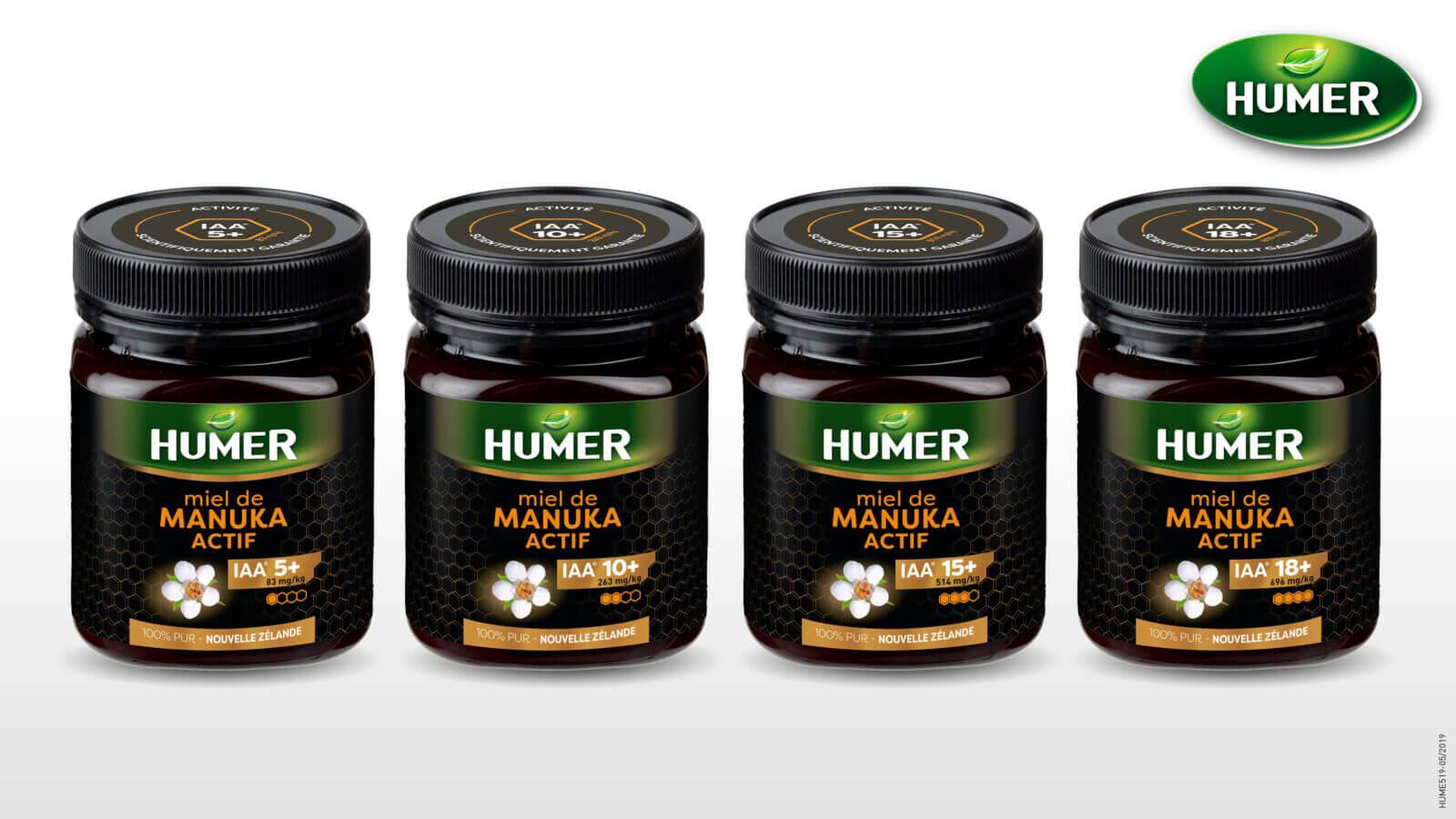 identité de pack miel de manuka