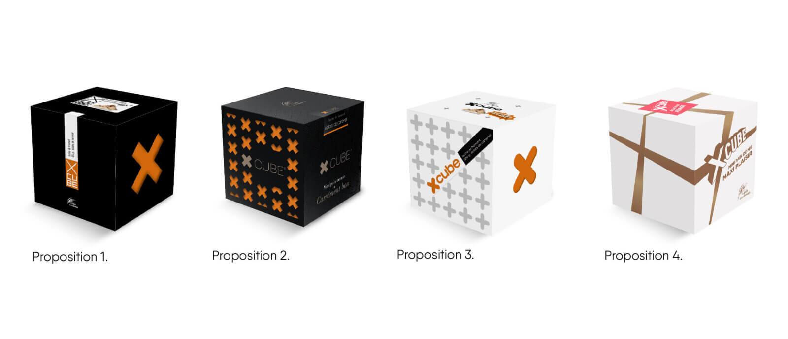 création pack X Cube