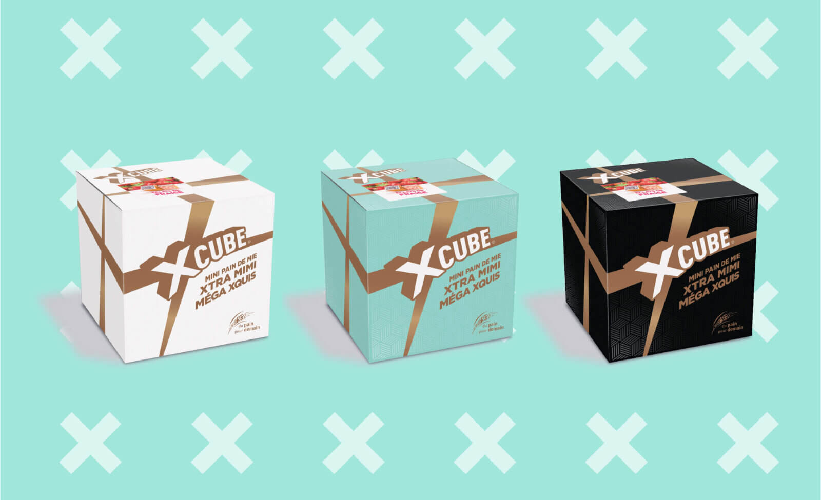 design packaging X Cube