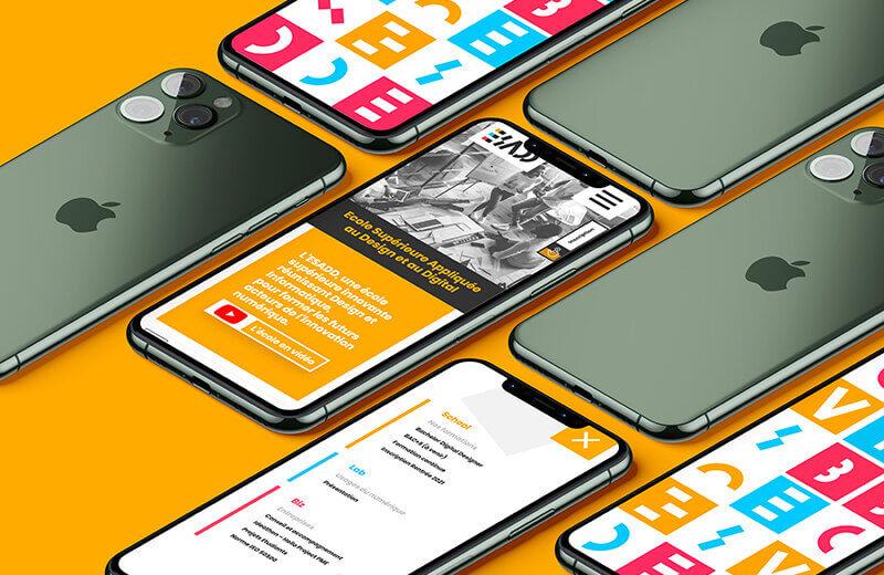 site internet pour l'école du digital
