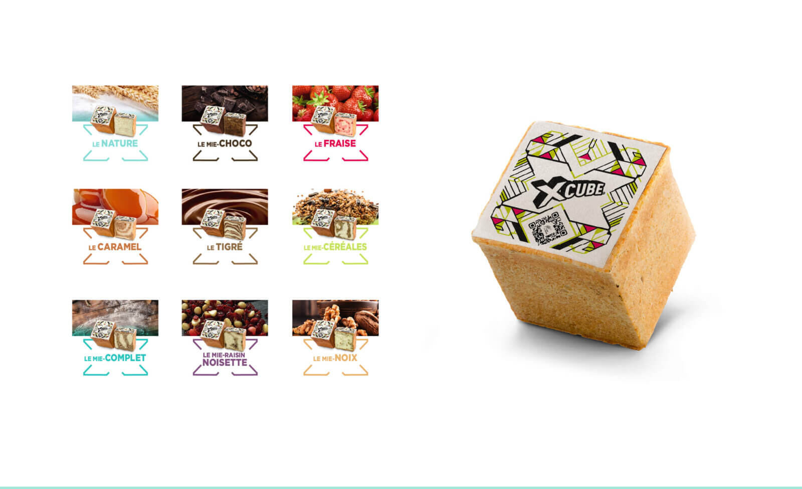 gamme produit X Cube
