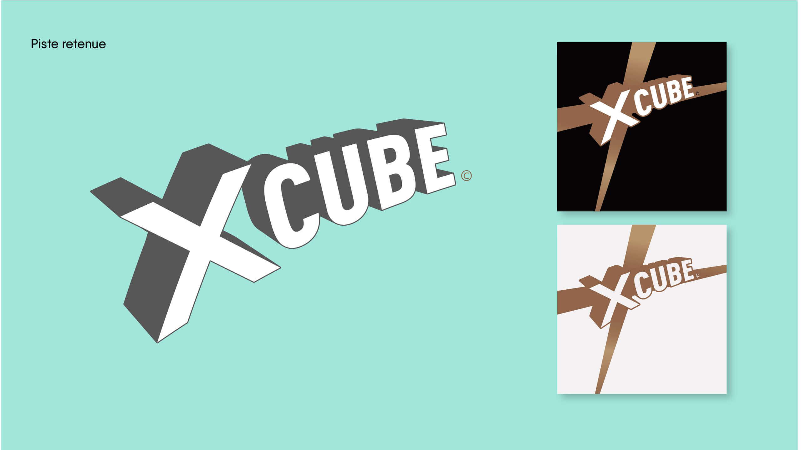 identité graphique X Cube