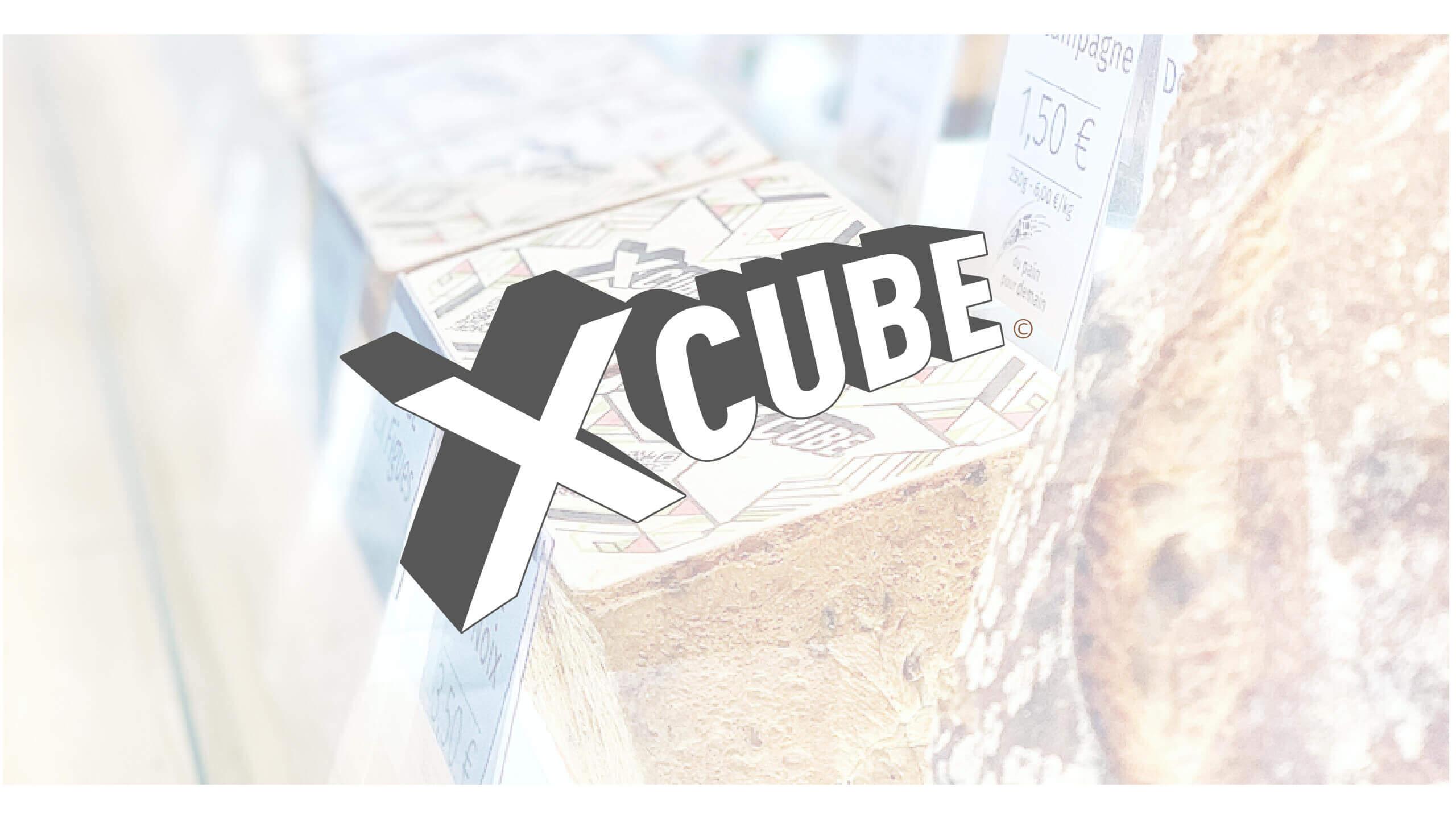 identité de marque X Cube