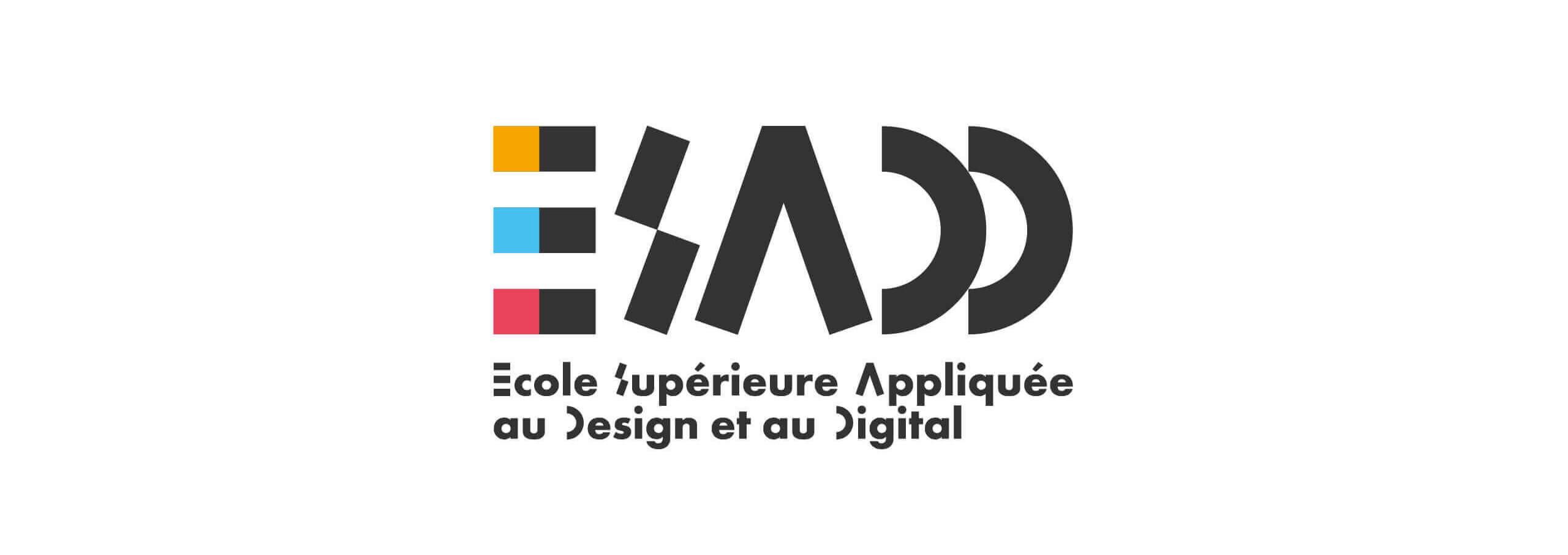 logo école de design et de digital de l'esadd