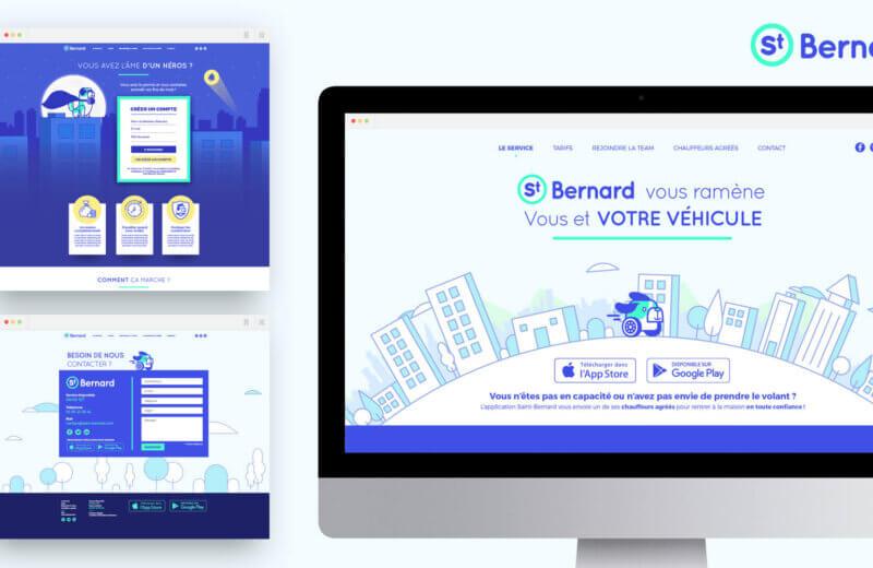webdesign saint bernard