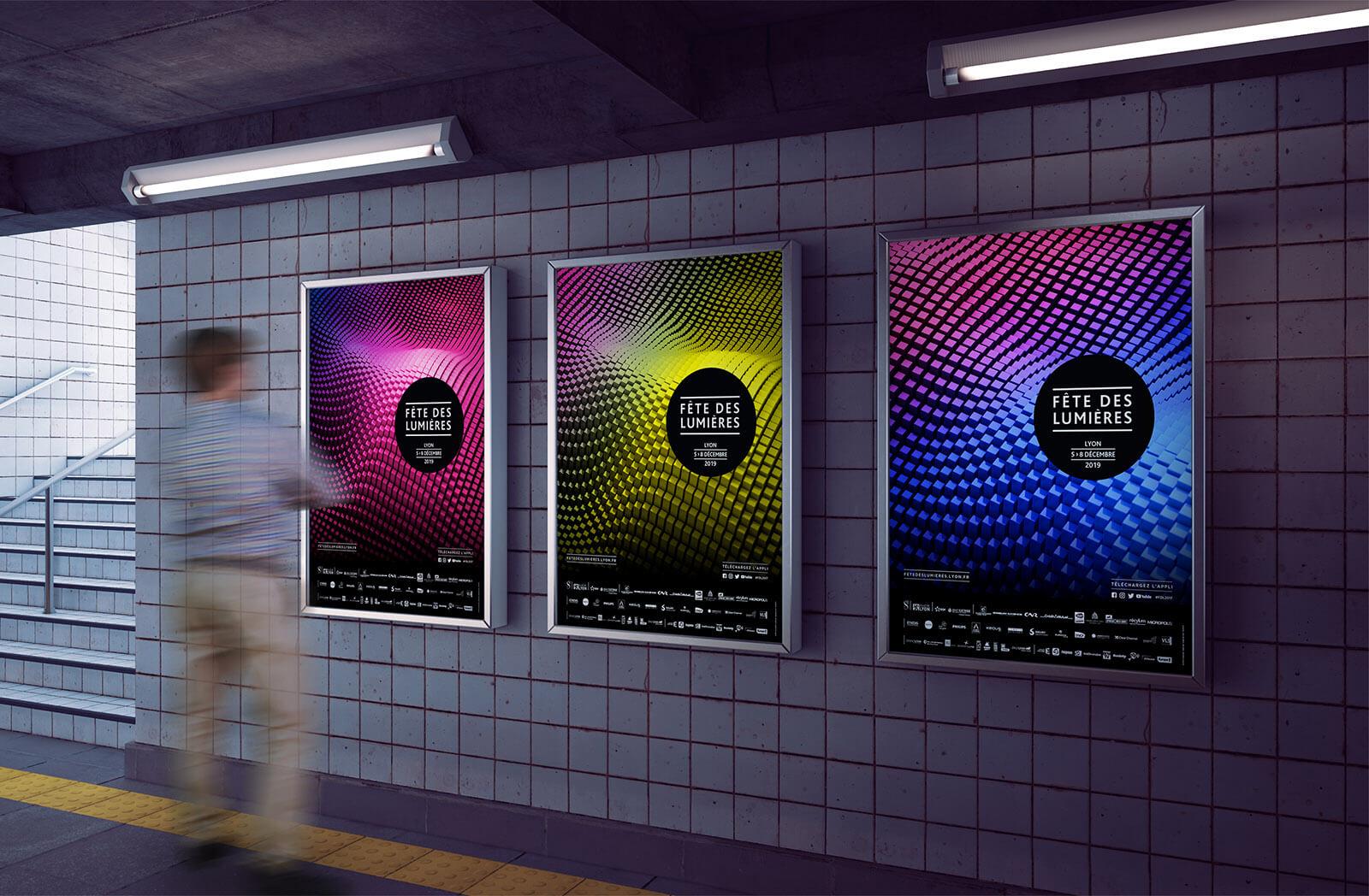 affiche Fête des Lumières de Lyon