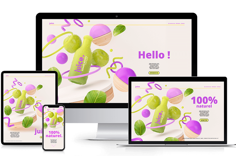 Création de votre site web sur-mesure