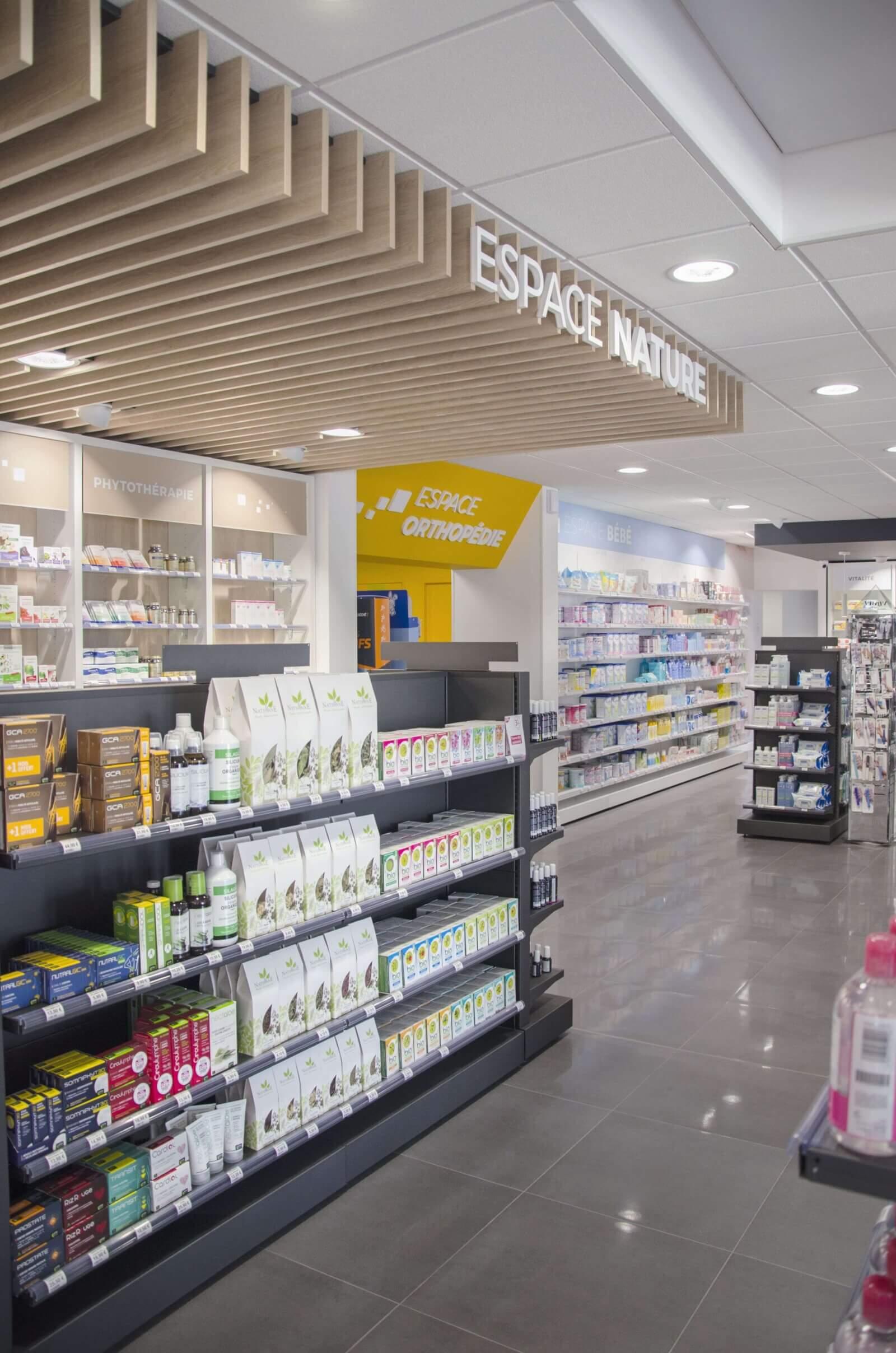 agencement pharmacie val de norge