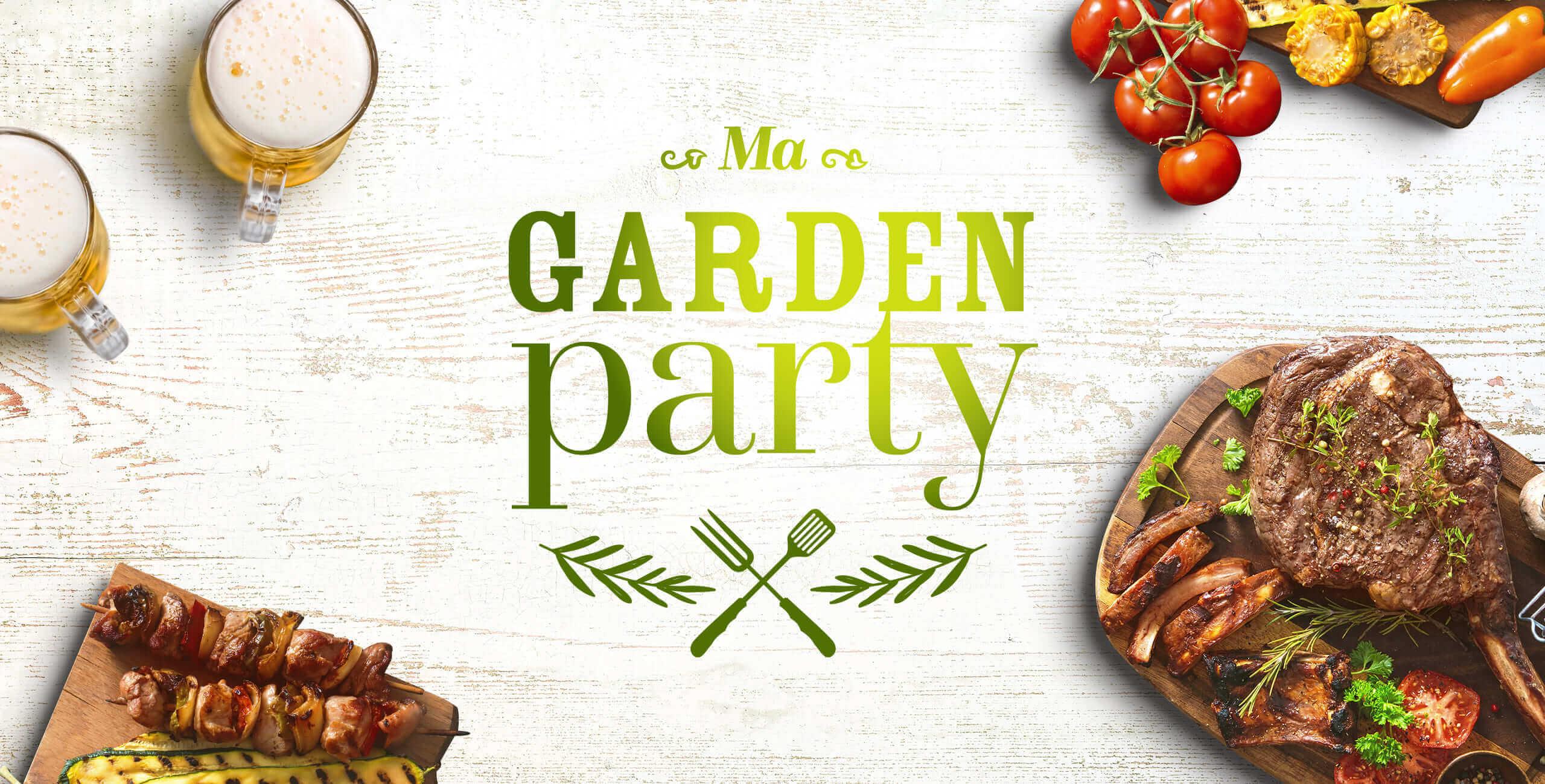 communication événementielle garden party
