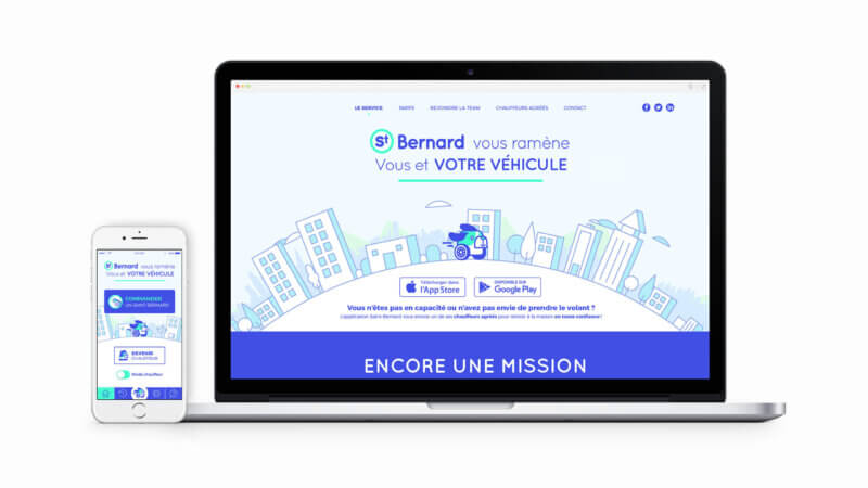 site web StBernard