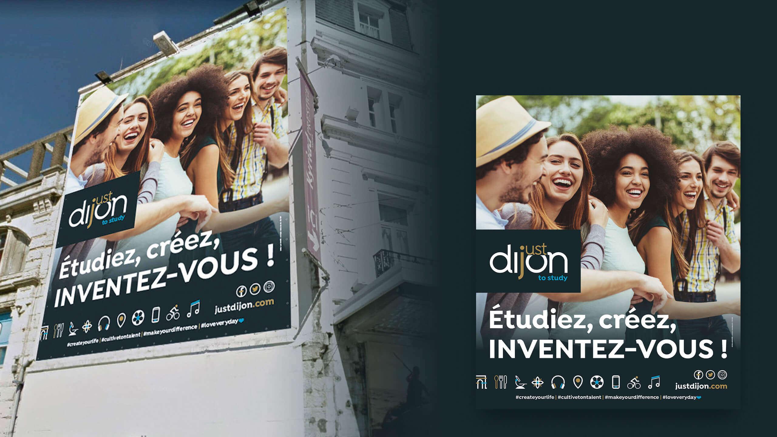 Affiche de la marque Just Dijon
