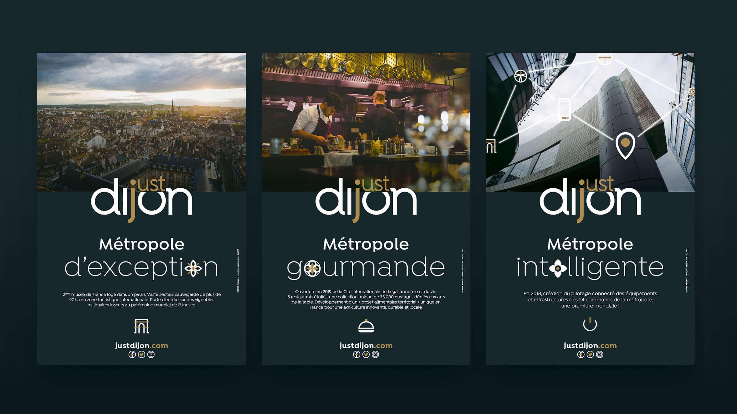 Affiches Just Dijon