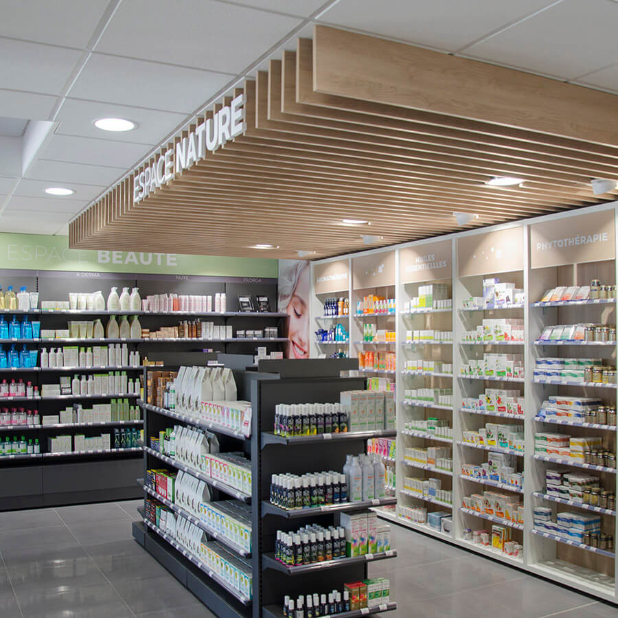 espace nature en pharmacie