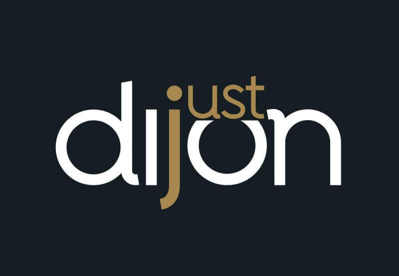 identité de la marque territoriale Just Dijon