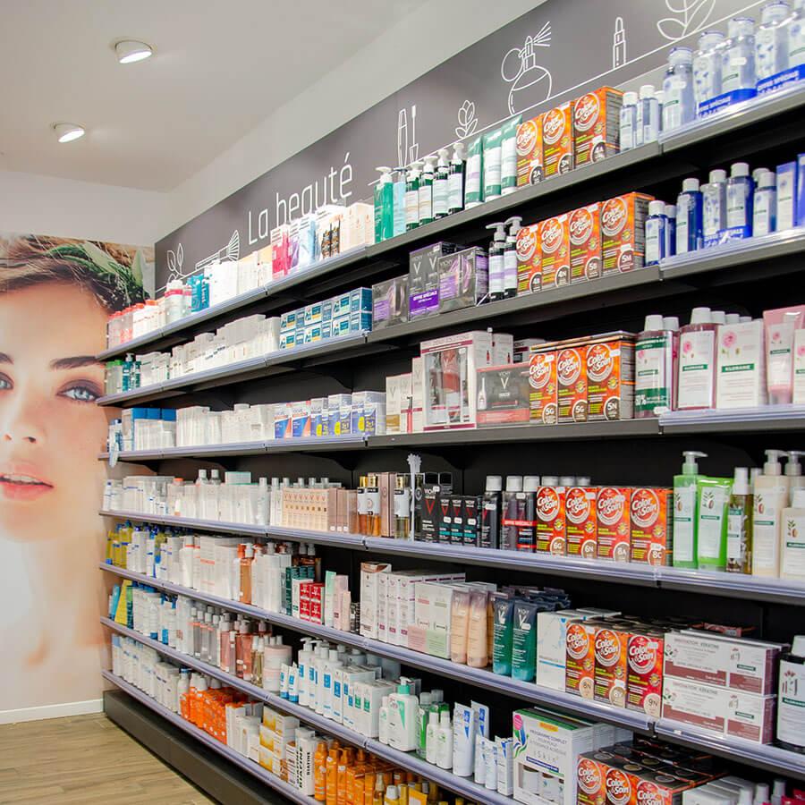 espace beauté en pharmacie