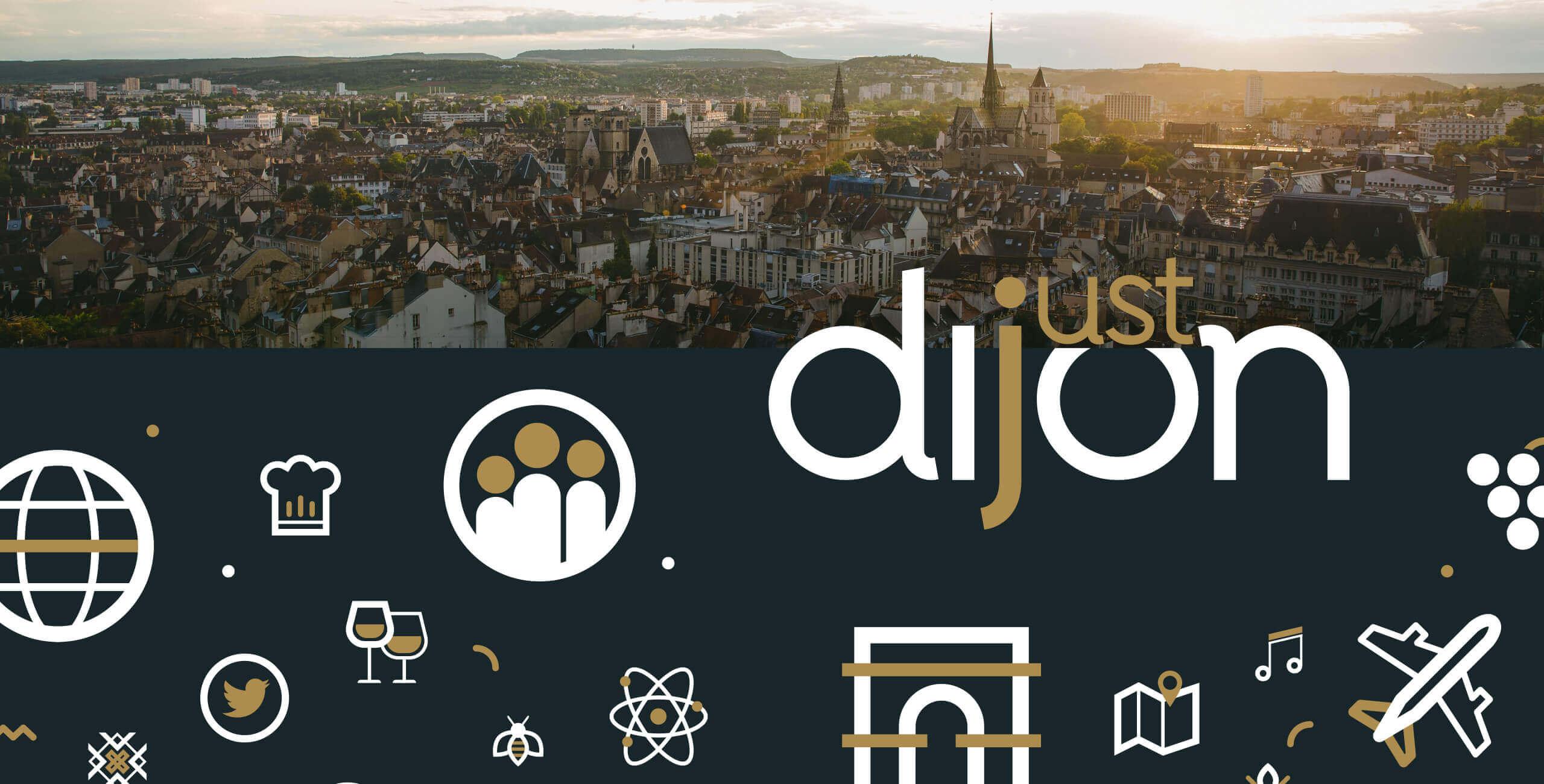marque territoriale Just Dijon