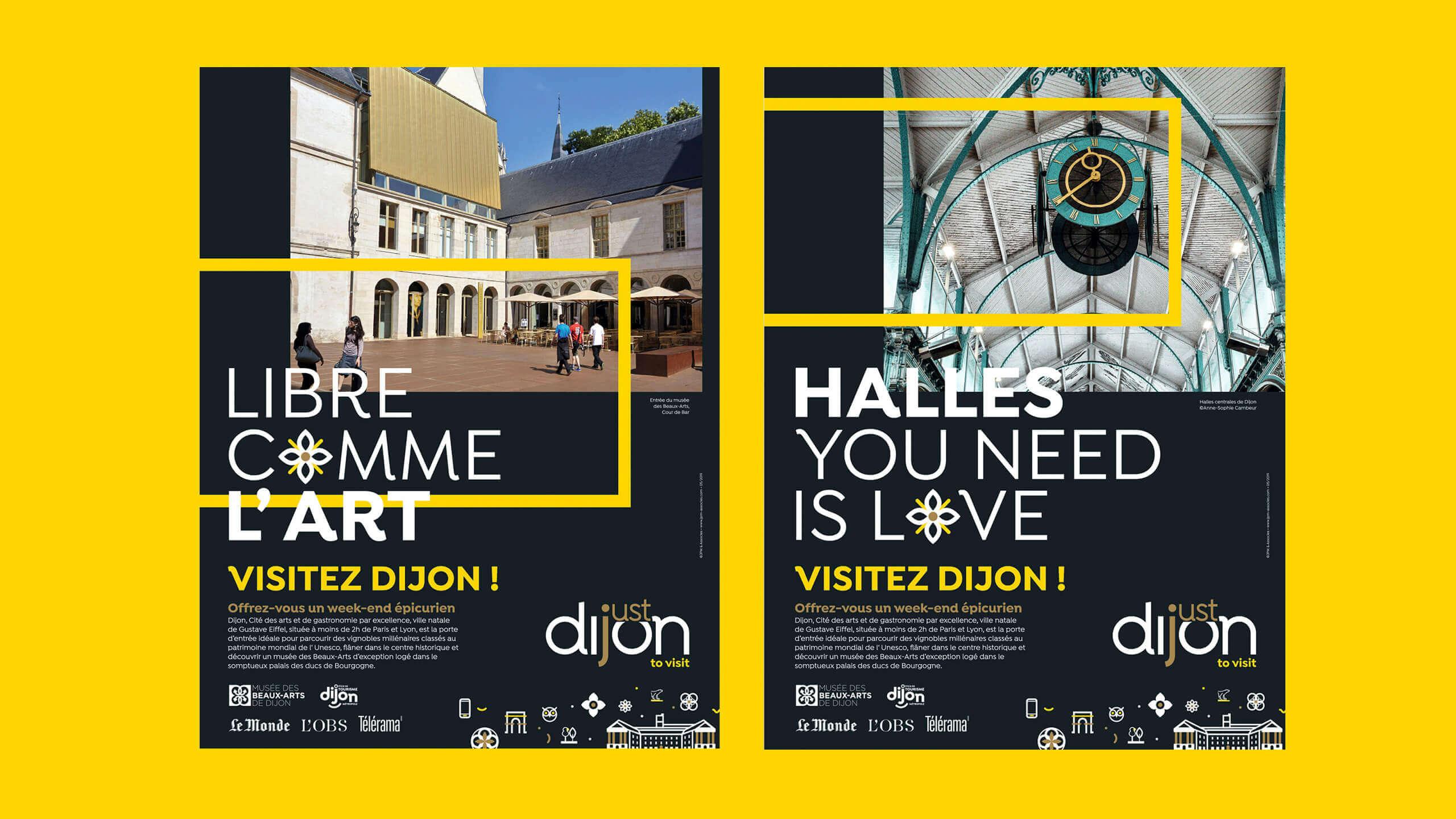 Publicité Just Dijon