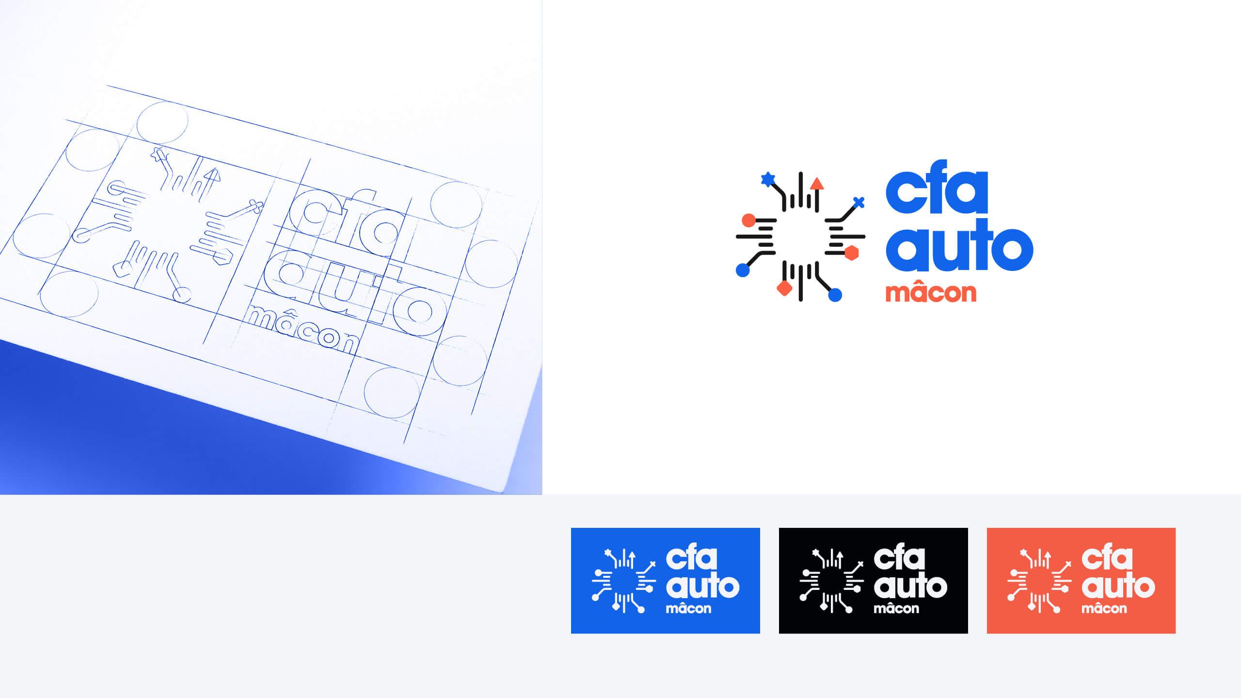 Logo CFA Automobile Mâcon