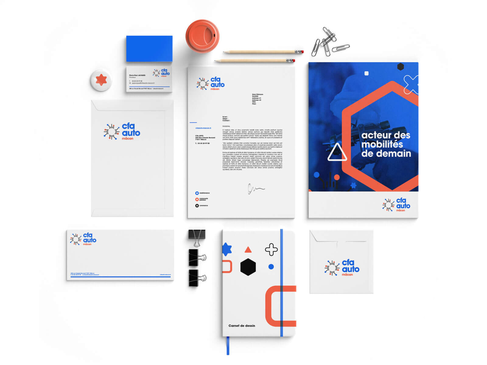 Kit bureautique