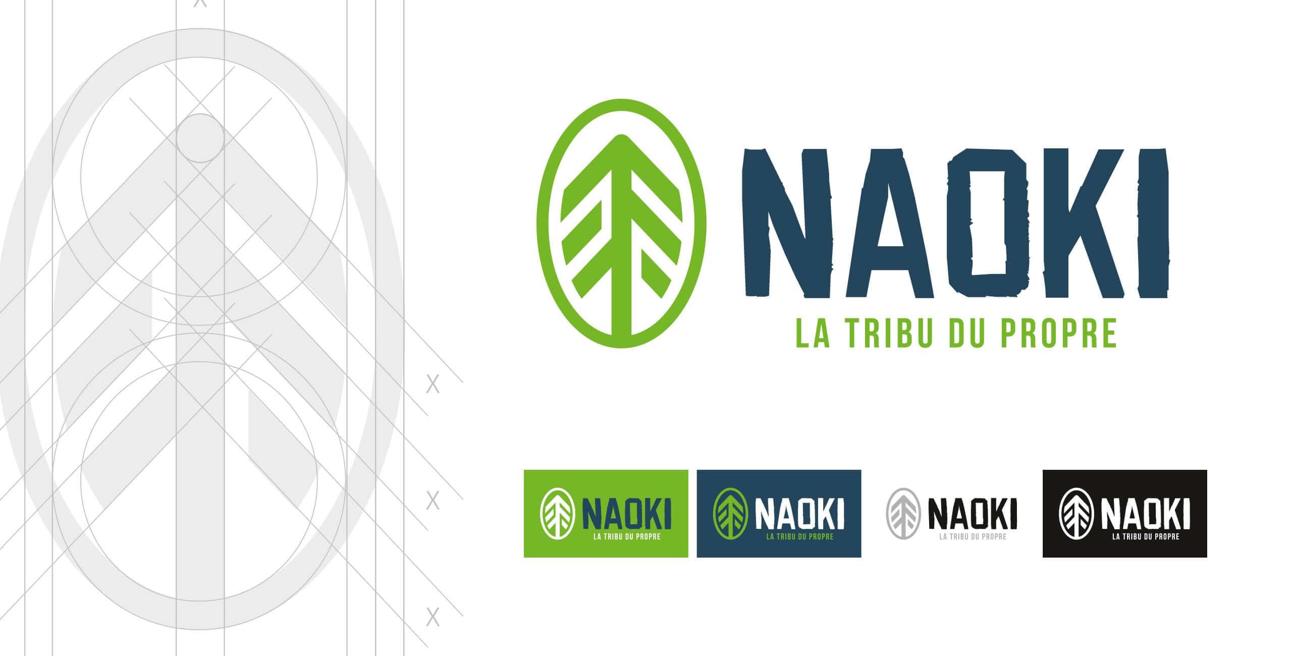 création logo Naoki