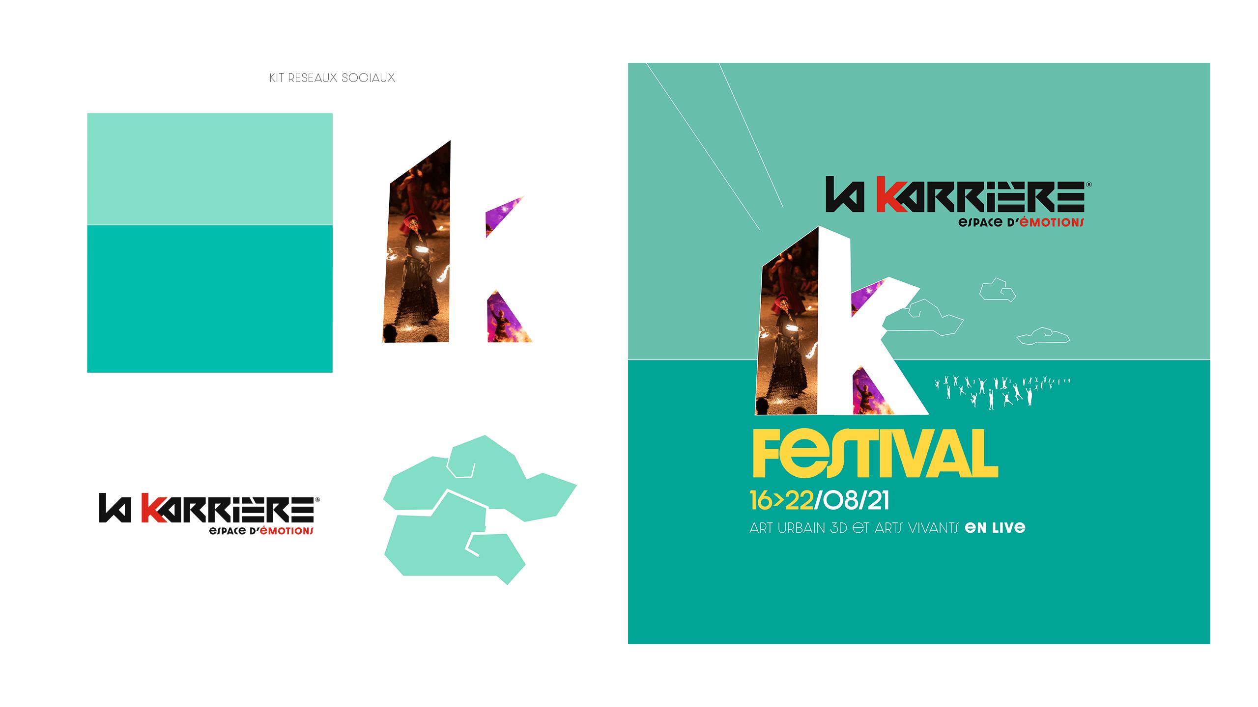 kit réseaux sociaux La Karrière
