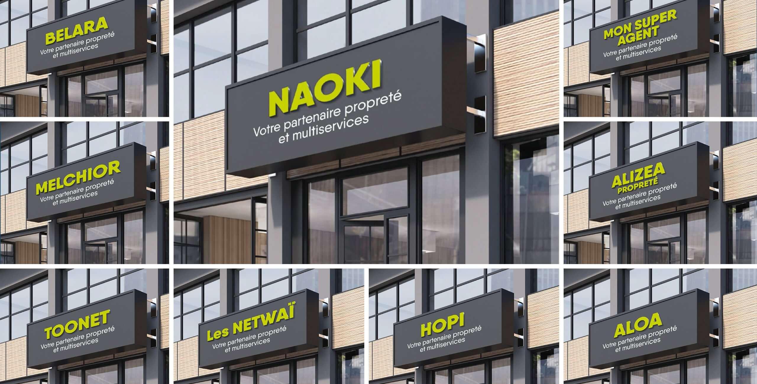 nom de marque Naoki
