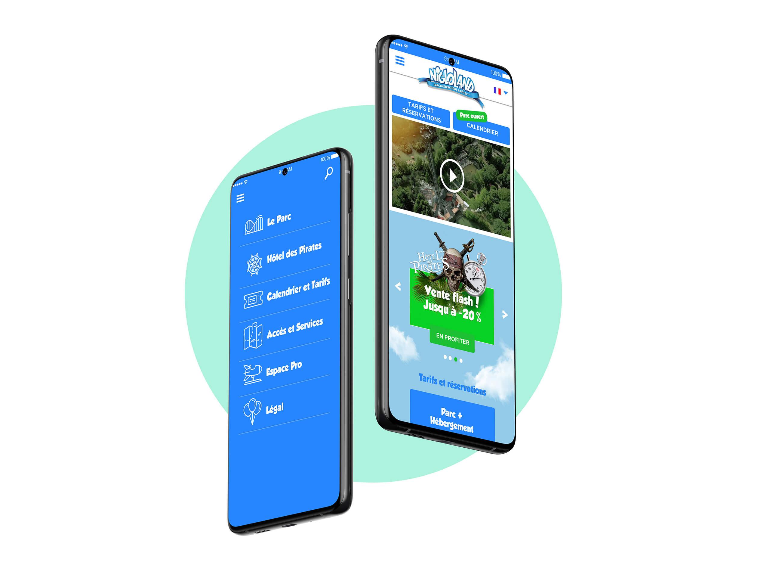 Site mobile Nigloland