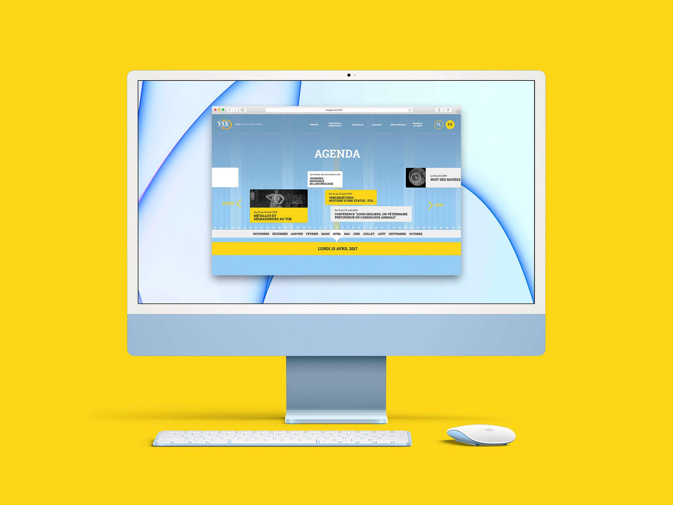 Site web Musée de Vix